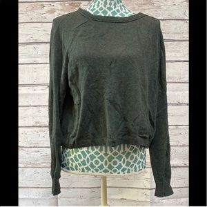 Rubbish forest sweater with zipper on back